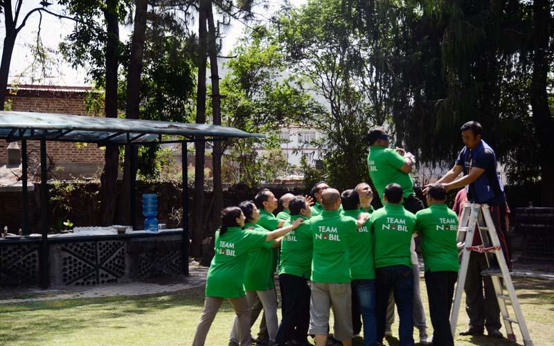 team building in nepal