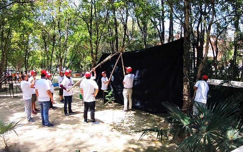 borderlands team building in nepal